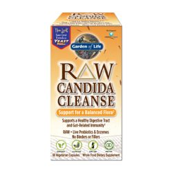 RAW Candida Cleanse Support