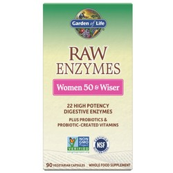 RAW Enzymes� Women 50 & Wiser