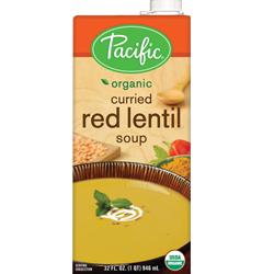 Organic Curried Red Lentil Soup