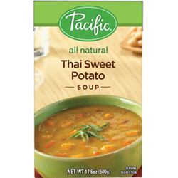 Organic Thai Sweet Potato Soup