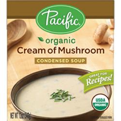 Organic Cream of Mushroom Condensed Soup
