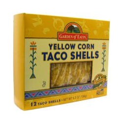 Organic Yellow Crn Taco Shells