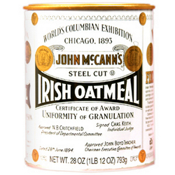 Traditional Tin Oatmeal