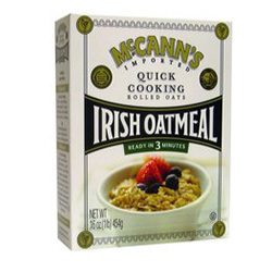 Quick Cooking Oatmeal Box