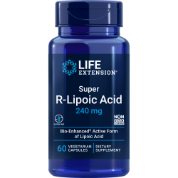 Super R-Lipoic Acid 240 mg 60 vegetarian capsules