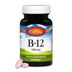 B-12 Sl 1000 mcg  90 Tablets