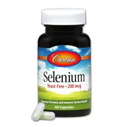 Selenium 200 mcg  60 Capsules