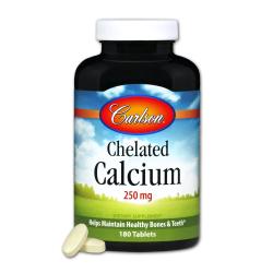 Chelated Calcium 250mg 180 Tab