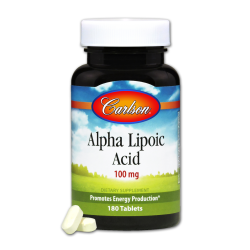 Alpha Lipoic 100mg 180 Tablets