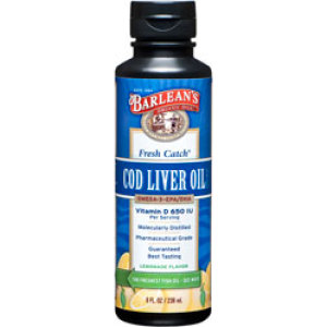 Cod Liver Oil 8 Oz. Liquid