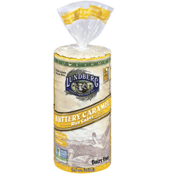 Rice Cakes, Eco-Farmed, Buttery Caramel
