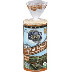 Rice Cakes, Sesame Tamari, Organic