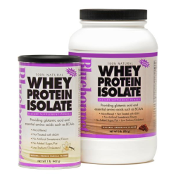 100% All Natural Whey Protein Isolate Powder French Vanilla