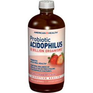 Probiotic Acidophilus Liquid - Strawberry