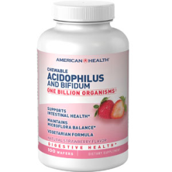 Chewable Acidophilus And Bifidus - Strawberry