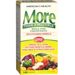 More Than A Multiple™ Whole Food Concentrates Multivitamin