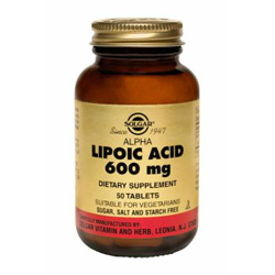 Alpha Lipoic Acid 600 Mg Tablets