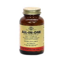 All-In-One Plus Grapefruit Tablets (Lecithin, B-6, Kelp, Cider Vinegar Grapefruit Powder)