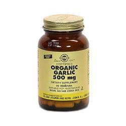 Certified Organic Garlic 500 Mg Vegetable Capsules