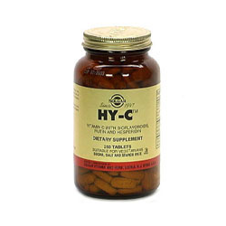 Hy-C Tablets (600 Mg Vitamin C With 100 Mg Bioflavonoids)