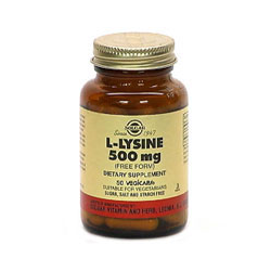 L-Lysine 500 Mg Vegetable Capsules