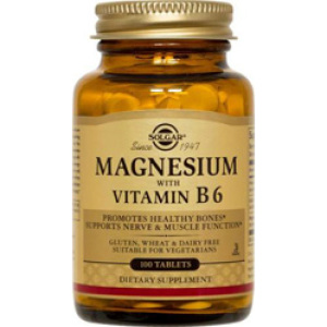 Magnesium With Vitamin B-6 Tablets