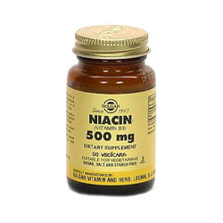Niacin 500 Mg Vegetable Capsules (Vitamin B3)