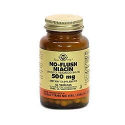 No-Flush Niacin 500 Mg Vegetable Capsules (Vitamin B3) (Inositol Hexanicotinate)