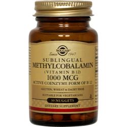 Methylcobalamin (Vitamin B12) 1000 Mcg