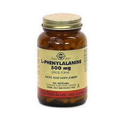 L-Phenylalanine 500 Mg Vegetable Capsules