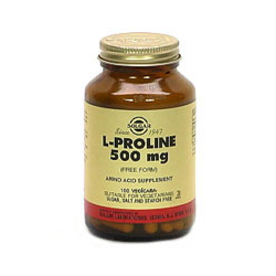 L-Proline 500 Mg Vegetable Capsules
