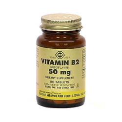 Vitamin B2 50 Mg Tablets (Riboflavin)