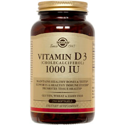 Vitamin D3 (Cholecalciferol) 1000 Iu