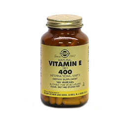 Vitamin E 400 Iu Dry Vegetable Capsules (d-Alpha Tocopheryl Succinate)