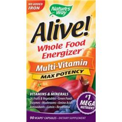 Alive! Multi-Vitamin (No Added Iron)