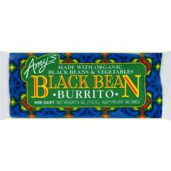 Black Bean Vegetable Burrito