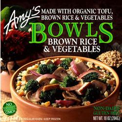 Brown Rice & Vegetable Bowl