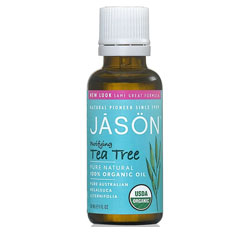 Jason Pure Natural Skin Oil, Purifying Tea Tree 1 oz (Pack of 6) clinique pore refining solutions instant perfector for unisex, 03 invisible deep, 0.5 ounce