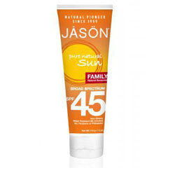 Family Natural Sunscreen Broad Spectrum Spf45