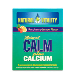 Calm Plus Cal Rasp/lem Pkt Box