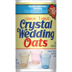 Crystal Wedding Oats