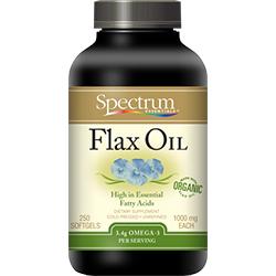 Flax OIL Softgels, Organic