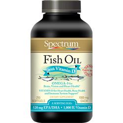 Fish oil with vitamin d softgels spectrum essential for Fish oil vitamin e