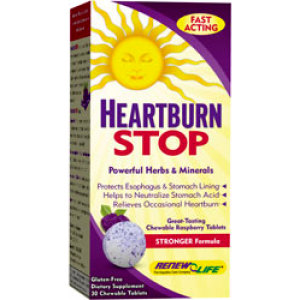 Heartburn Stop (30 Chewable Tabs)