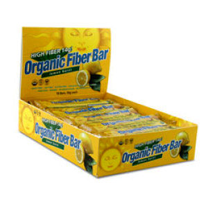 Organic Fibre Bar Lemon
