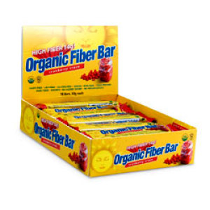 Organic Fibre Bar Cranberry