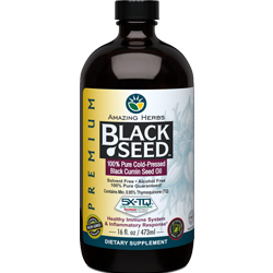 Premium Black Seed Oil 100% Pure Cold-Pressed