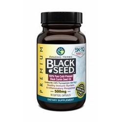 Premium Black Seed Oil 500mg Softgels