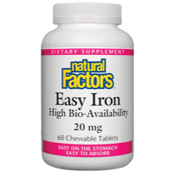 Easy Iron Chewable 20mg