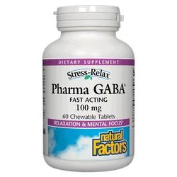Stress-Relax Pharma Gaba Chewable